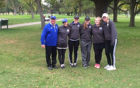 East Girl's Golf takes on State