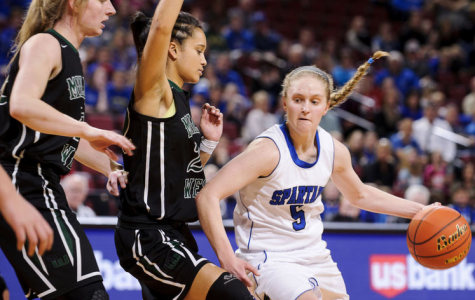 Former Spartan Athletes Playing in College: Grace Barry
