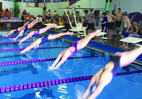 Sophomore Swimmer Ather Leads Spartans