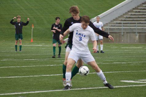 Spartan Boys Varsity Soccer Shutout by Hawks