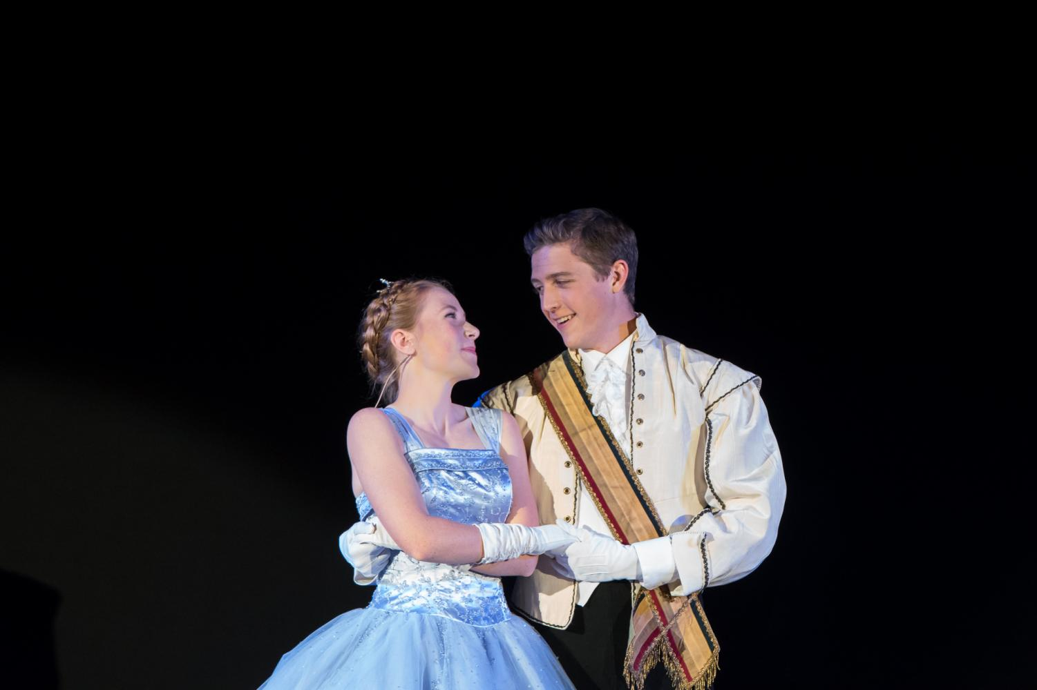 The lead Cinderella was played by Camryn Self and Prince charming by Turner Linafelter.