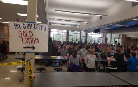 East participated in National Mix It Up at Lunch Day on October 31, 2017, when the Student Council set up an opportunity for people to develop new friendships by changing the cafeteria slightly.
