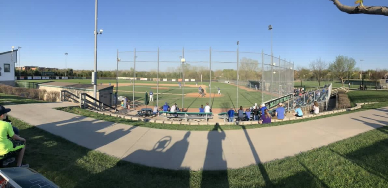 The Lincoln East varsity baseball team faced off against Omaha North at Millard West on Friday, May 4.  East won 9-1.