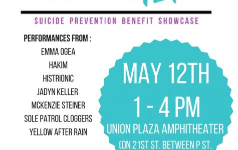 Flyer for the Hear the Hope benefit showcase.