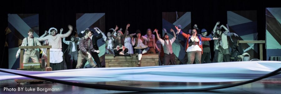 The Stars of Peter and the Starcatcher