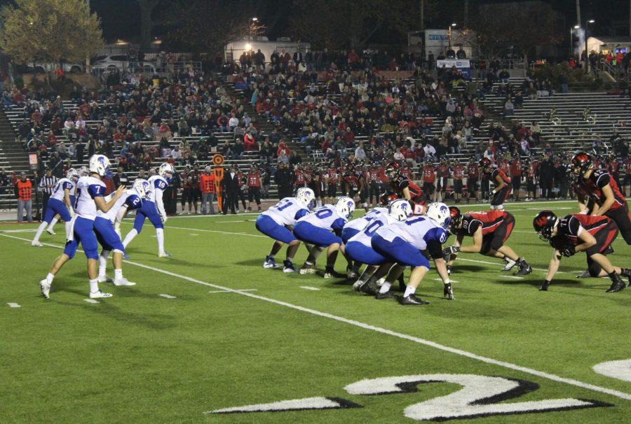 Spartans football falls short against Warriors