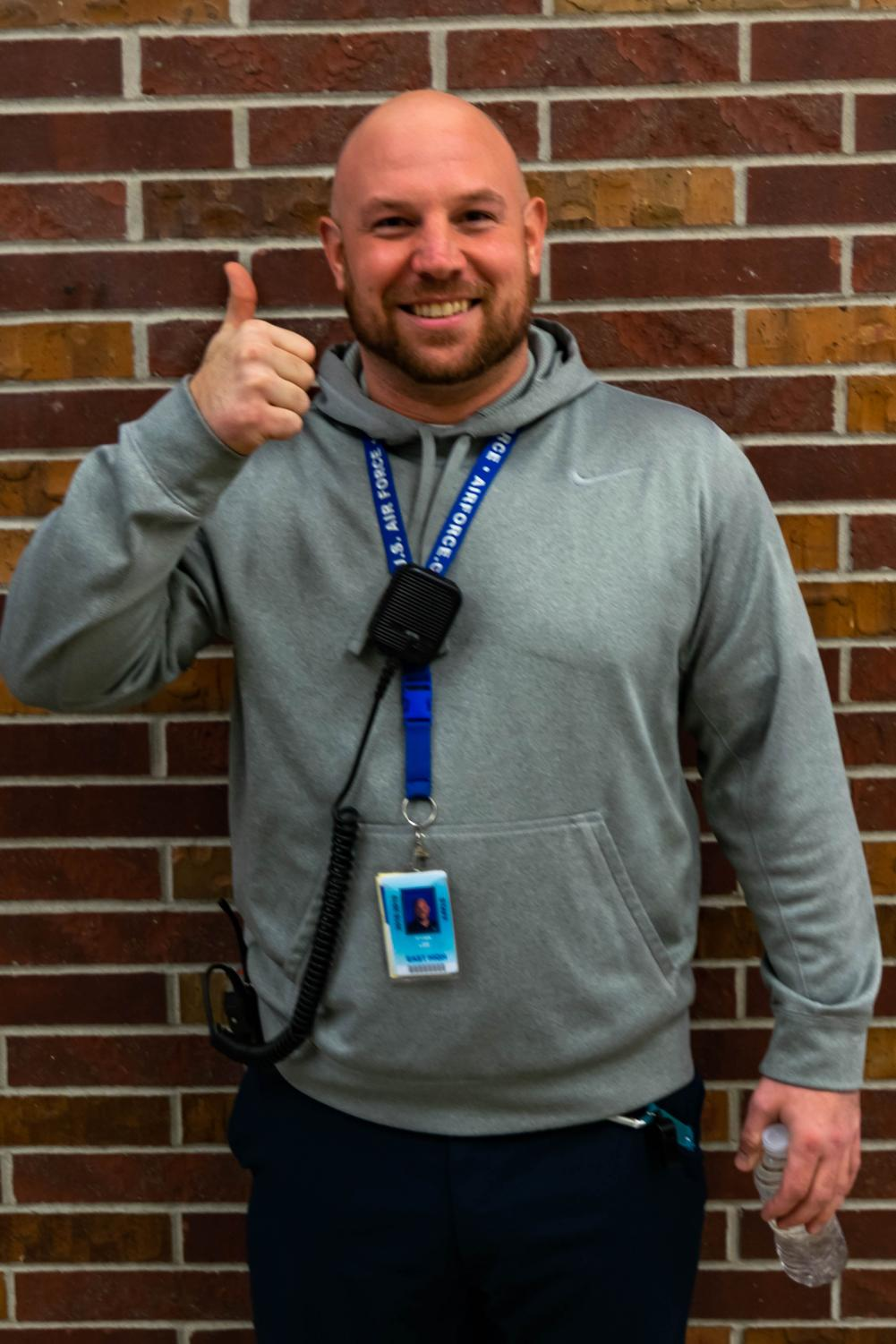 Ryan Lee is one of our four campus supervisors. He has a degree in nutrition, and also works part-time at the Hy-Vee fuel station.