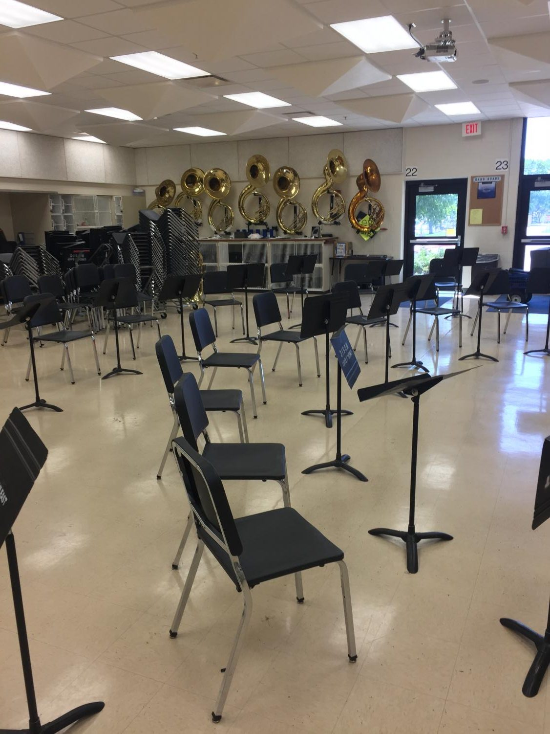 East HIgh's Band Room