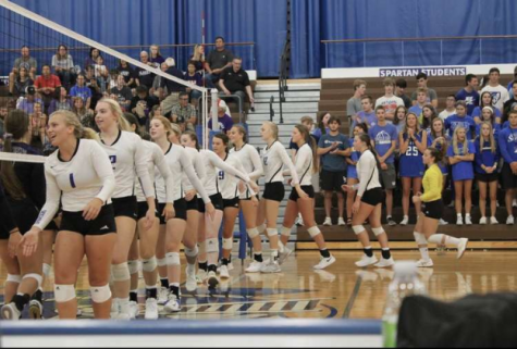Spartan Volleyball Kicks Season off with a Home Win