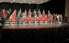 Lincoln East's Show Choir performance at the showcase.