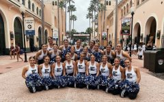The Apollonaires getting ready for Game Day Finals at UDA Nationals in Orlando