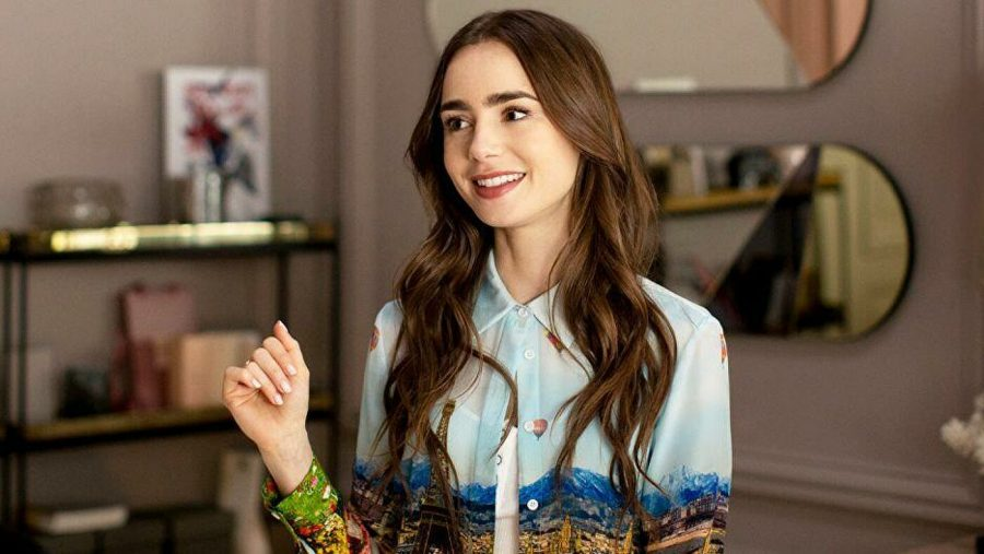 Emily (Lily Collins), main protagonist from