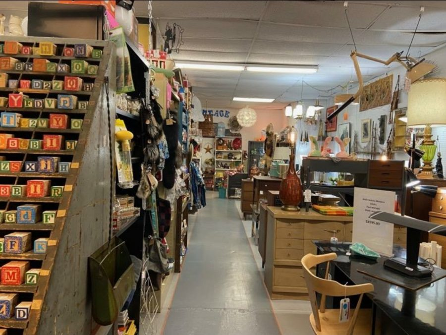 One of the many areas in Cool and Collected Antiques located at 3235 S 13th Street.