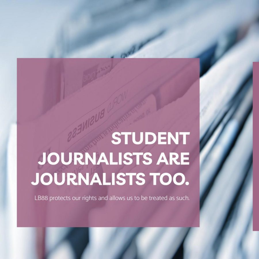 LB88 is a very important bill to the Oracle, as it promotes and protects freedom of the press for student journalists.