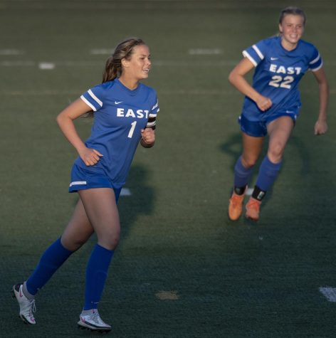 Senior Briley Hill scored 3 goals to spark a 6-2 Spartan victory and secure their ticket to the state tournament.