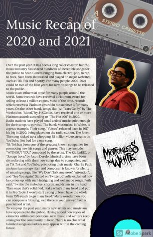 Music Recap of 2020 and 2021