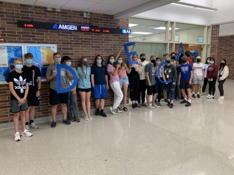 Lincoln East DECA is held every Thursday after school in room 131. DECA is a non-profit organization focused on business skills but also many other community oriented skills.