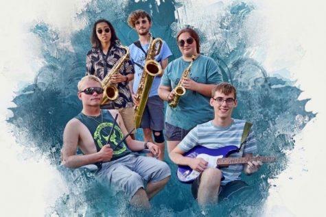Some early members of the band, Elijah Ridley, Juwon Kim, Aj Stone, Zander Hertzel, and Zach Ingarcia.